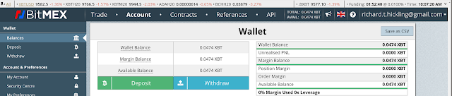 BitMEX Wallet