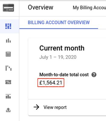 Google Billing